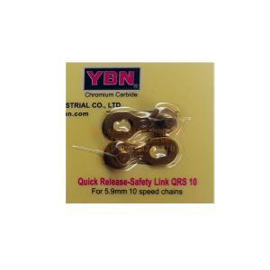 """YBN"" ตัวปลดโซ่เร็ว QR10, 10-SPEED, สีทอง"