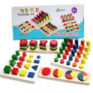 Wooden Teaching Toys 8 แบบ (2Y+)