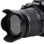 Nikon Lens Hood เทียบเท่า HB-45 ทรงกลีบดอกไม้ for NIKKOR 18-55mm f/3.5-5.6G thumbnail 2