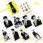 สติ๊กเกอร์ PVC - SJ M SWING 10 ใบ thumbnail 1