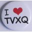 เข็มกลัด I LOVE TVXQ! thumbnail 1