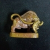 หมูอาคมเนื้อตะปู ๗ ป่าช้า ผสม ทองเหลืองเชี่ยนหมากเก่า หลวงพ่อมี วัดบ้านช้าง ( 02 )