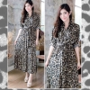 Classic Leopard Shirt dress