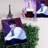 สมุดโน้ต ขนาด 21 x 14 cm. จำนวน 120 หน้า - Kris EXO