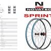 NOVATEC : Sprint 2016 ชุดล้อขอบต่ำน้ำหนักเบา