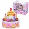 มิวสิคเค้ก เค้กดนตรี Happy Birthday มีเสียงมีไฟ ส่งฟรี