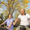 ผู้สูงอายุออกกำลังกายช้าๆเน้นสุขภาพ