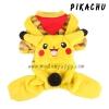 (พร้อมส่ง) ชุดกันหนาวสุนัขสี่ขา Pikachu
