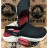 รองเท้า CROCS รุ่น LiteRide สีดำพื้นแดง