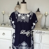 Lady Ribbon's Made Lady Kendall Vintage Embroidered Kaftan Mini Dress