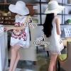 Sevy A Line 3D Vintage Sleeveless Mini Dress