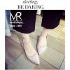 รองเท้าคัทชู สไตล์ Valentino รุ่นนี้เป็นงานเกาหลี สีหวานๆพาสเทล