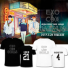 เสื้อยืด EXO CBX GIRLS เลือกเมน สีขาว