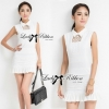 Lady Ribbon's Made Victoria Secret Autumn Black&White Secret Mini Dress