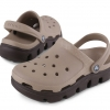 รองเท้า CROCS รุ่น DUET SPORT CLOG สีน้ำตาลอ่อน