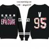 เสื้อแขนยาว BTS - EPILOGUE V
