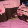 กระเป๋าคุณแม่ carter หัวใจ สีชมพู