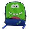 กระเป๋าเป้สะพายหลังไดโนซอรัสยิ้ม ( สีเขียว/สีน้ำเงิน )