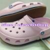 รองเท้า crocs retro clog รุ่นเรโทร สีชมพูอ่อน