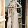 Jumpsuit Long Sexy Style Easily 2 Color Style Korea