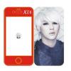 เคสไอโฟน 4/4s XIA - JUNSU [JYJ] (สีแดง)