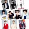 สติ๊กเกอร์ PVC เซตละ 10 ใบ - แบคฮยอน EXO