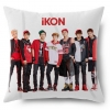 หมอนลายหน้า-หลัง 40x40 cm. iKON : Warm Up Single