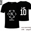 เสื้อยืด EXO Monster - LAY สีดำ