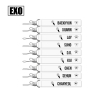 พวงกุญแจ EXO สีดำ (เลือกเมน)