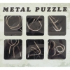 Metal Puzzle กลเหล็ก 6 แบบ