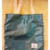 PB023ถุงผ้าไหมเลือกสีได้พร้อมสกรีน หูผ้าดิบ ม้วนผูกโบว์ 10x10นิ้ว