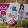 ของเล่นชุดหมอรถเข็น medical playset