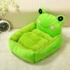 (พร้อมส่ง) ที่นอนสุนัข เบาะแฟนซีกบเขียว แถมฟรีหมอนมีเสียง