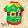 เสื้อสุนัขคริสมาสต์ ซานต้า (พร้อมส่ง)