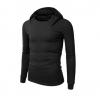 พร้อมส่ง เสื้อกันหนาว สีดำ มีฮู้ด แขนจั๊ม แขนยาว ใส่ทับด้วยโค้ท หรือใส่เดี่ยวก็เท่ห์ และอุ่น แมทซ์กับเสื้อผ้าได้ง่าย