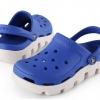 รองเท้า CROCS รุ่น DUET SPORT CLOG สีน้ำเงินพื้นขาว