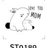 Cartoon Stamp - รูปการ์ตูนน่ารัก 005