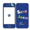 เคสไอโฟน 4/4s SUPER JUNIOR (สีน้ำเงิน)
