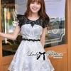 Lady Ribbon's Made Lady Elizabeth Haute Glamour Wild Rose Dress