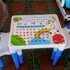 ชุดโต๊ะเด็กอนุบาล ***** สีฟ้า *****