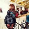 กระเป๋าแฟชั่น maomao  สีดำ