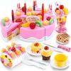ชุดหั่นขนมเค้กและตกแต่งเค้ก DIY Fruit Cake 75 ชิ้น ส่งฟรี