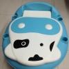 กระโถนรูปวัวน่ารัก ฝึกการนั่งขับถ่ายของคุณหนู สีฟ้า