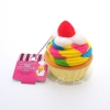 Squishy สกุชชี่ พวงกุญแจ Rainbow Cake ของ Sammy the Patissier