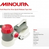 MINOURA : 9mm Quick Fork Mount : Fits standard 9mm quick skewer