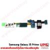 อะไหล่ สายแพรเซ็นเซอร์ปุ่มโฮม+ช่องเสียบหูฟัง Samsung Galaxy J5 Prime