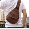 MMG กระเป๋าผ้าแฟชั่นผู้ชาย ใบเล็ก สะพายคาดไหล่ สุดแนว สไตล์สปอร์ต ใช้ได้ทุกโอกาส