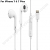 Apple EarPods iPhone X - 7 & 7 Plus Lightning - หูฟังแท้ไอโฟน 7 และ 7 Plus iPhone X