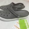 รองเท้า CROCS รุ่น CitiLane Clogs สีเทาล้วน