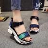 รองเท้าตีแบรนด์เกาหลีเลยสวยมากๆ งานจริงเนียนกริบ แต่งเลื่อมเกรดA ใส่สบาย นิ่มและกระชับ